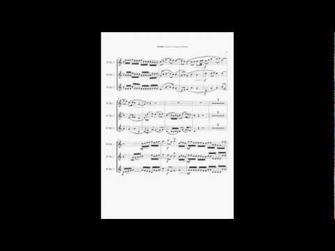 Johann Pachelbel (Wynton Marsalis) - Canon For 3 Trumpets And Strings