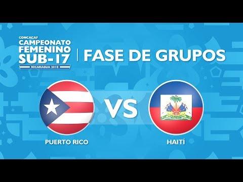 CU17W: Puerto Rico v Haiti