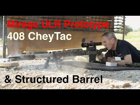 Mirrage ULR 408 CheyTac Structured Barrel Chassis