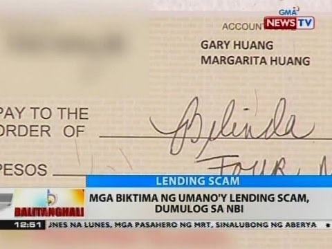 BT: Mga biktima ng umano'y lending scam, dumulog sa NBI
