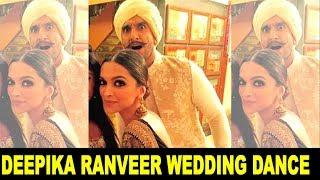Deepika Padukone Ranveer Singh Wedding Dance Video