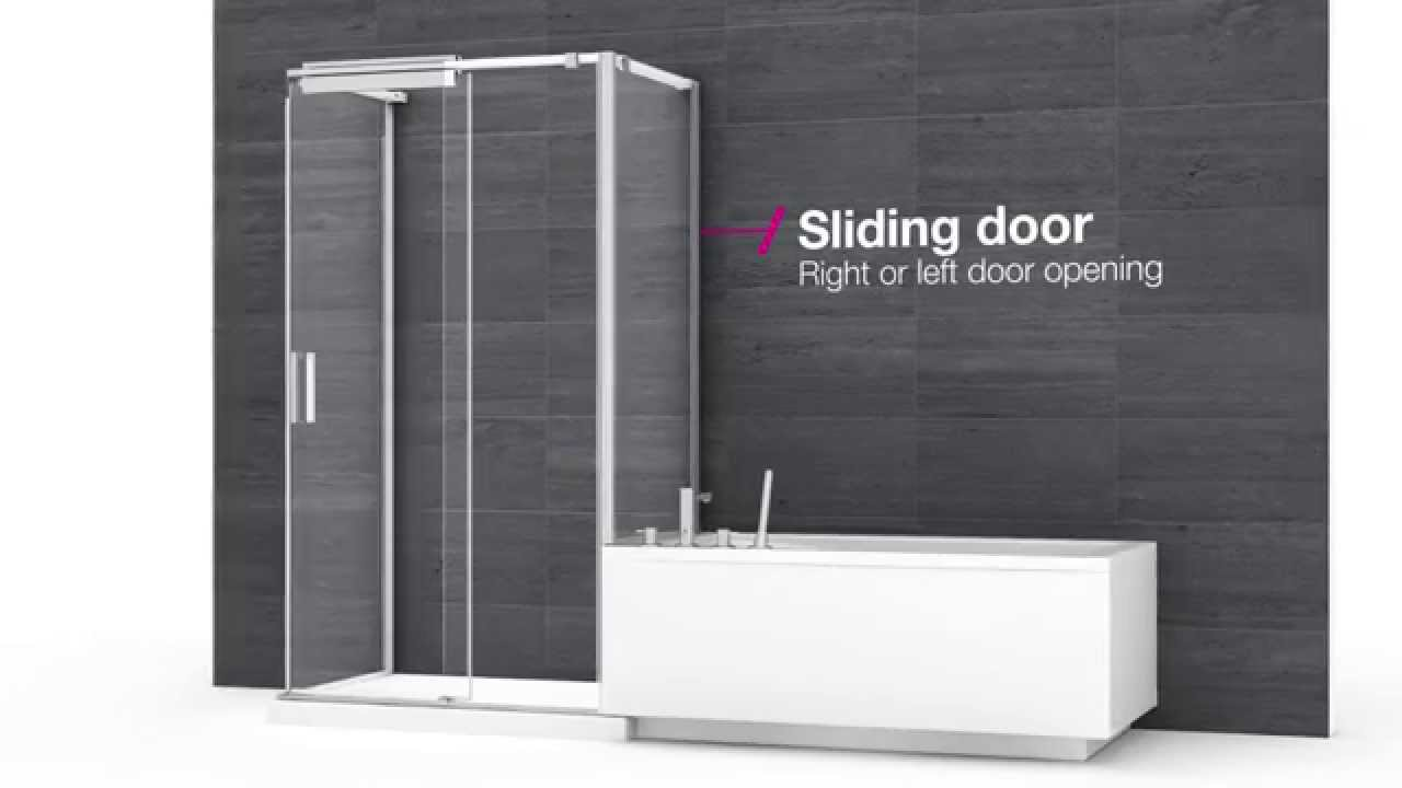 MAAX ModulR – Custom showers, tubs and combos (shower and tub) - YouTube