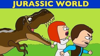Jurassic world and park in 1 minute - Musical Animated Parody