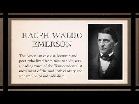 emerson self reliance essay pdf the essay on selfreliance ralph      Nature   by Ralph Waldo Emerson  Chapter Four  Language  Analysis    Interpretation