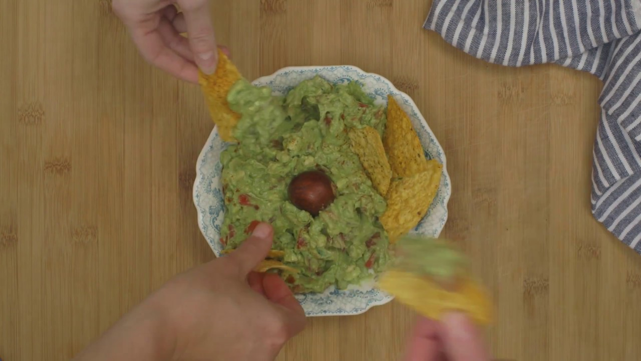 "Infused ""Green"" Guacamole"
