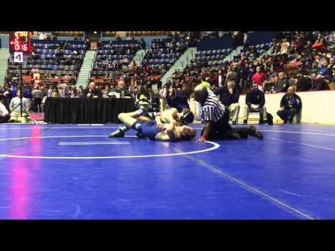 Central Dauphin's Jake Cherry beats Aaron Rump on a cradle at the buzzer