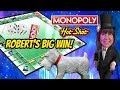 ROBERT'S BIG WIN! MONOPOLY HOTSHOT SLOT MACHINE