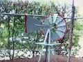 Garden windmill ornament - 180cm (6ft) high.