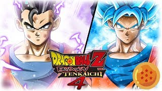 [FR] Dragon Ball Z budokai Tenkaichi 4 Episode 7 - GOKU VS GOHAN. XENO JANEMBA | Gameplay Francais