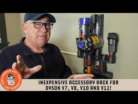 Inexpensive Accessory Rack for Dyson V7, V8 and V10!
