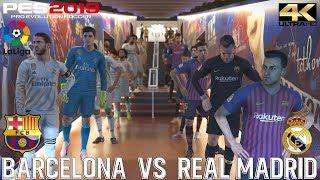 PES 2019 (PC) Barcelona vs Real Madrid | LA LIGA PREDICTION| 28/10/2018 |4K 60FPS