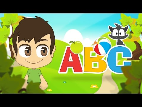 Learn the English Alphabet with Zakaria | ABC Letters in English