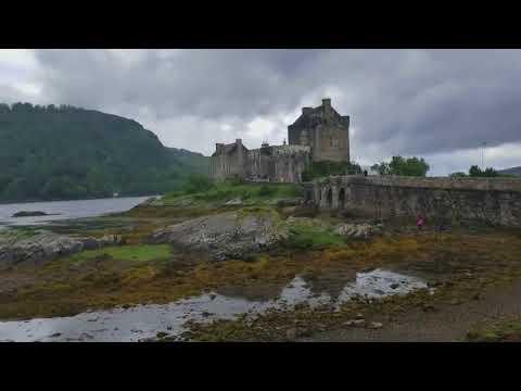 Eilean Donan Castle Loch Duich Scottish Highlands Scotland