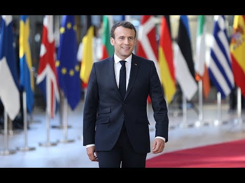 Macron's Trump-like swagger - what his body language tells us about him