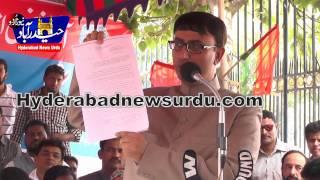 Hyd Police issued notice to Abu Asim Azmi Mla samajwadi party.