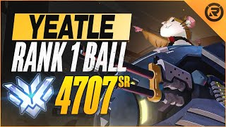 BEST OF YEATLE - RĄNK 1 BALL GOD | Overwatch Yeatle Wrecking Ball Montage