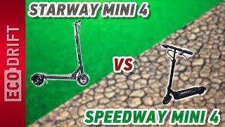 Электросамокат Starway vs Speedway - надо ли переплачивать?