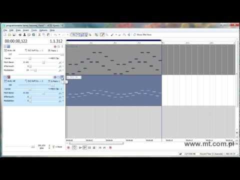 Tworzenie Muzyki - Tutorial Sony Acid Xpress 7