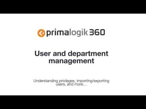 User Management Training Video - old version