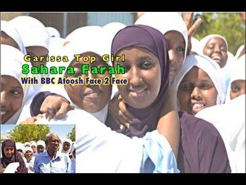 BBC Somali Atoosh Interviewed Top Student In Garissa County Sahara Farah And her Mum Ebla