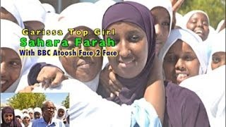 BBC Somali Atoosh Interviewed Top Student In Garissa County Sahara Farah And her Mum Ebla