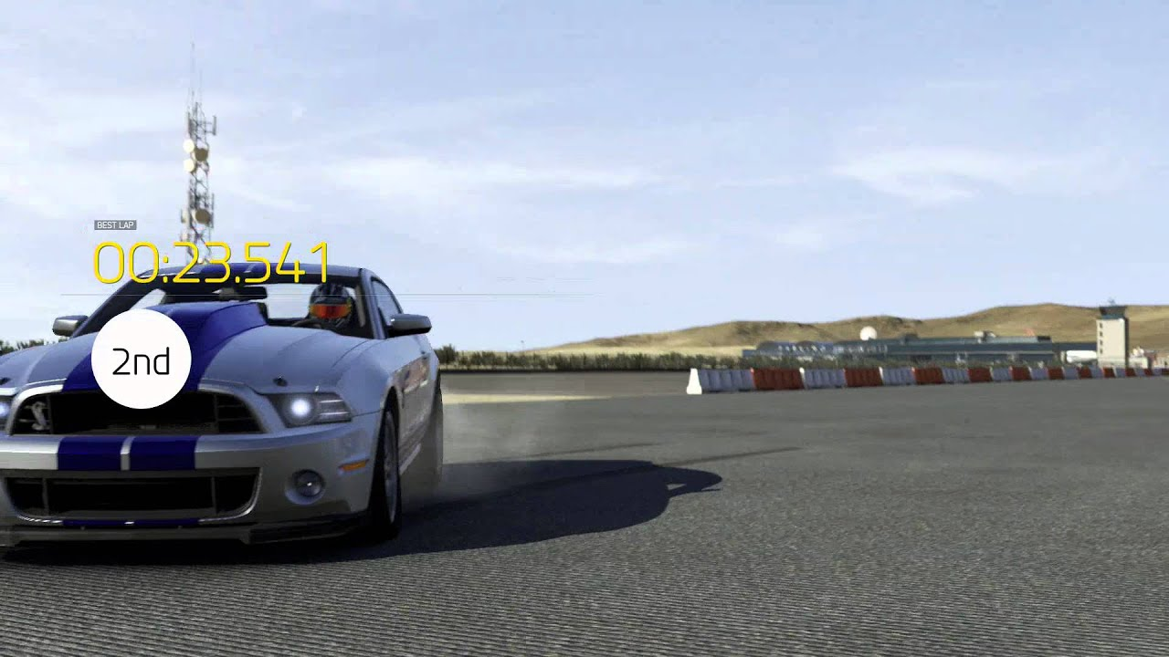 Forza 6 mustang gt500 vs bugatti veyron drag race