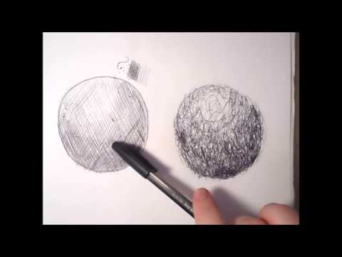 Scribble Drawing Process : Line drawing a guide for art students