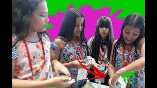 BRINCANDO DE SLIME COM VÁRIOS YOUTUBERS DO BRASIL