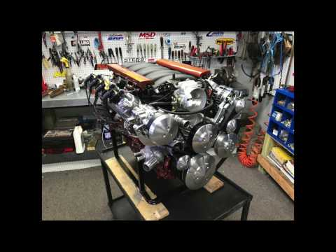 LS7 427CI 600HP Crate Engine With MSD Atomic LS EFI