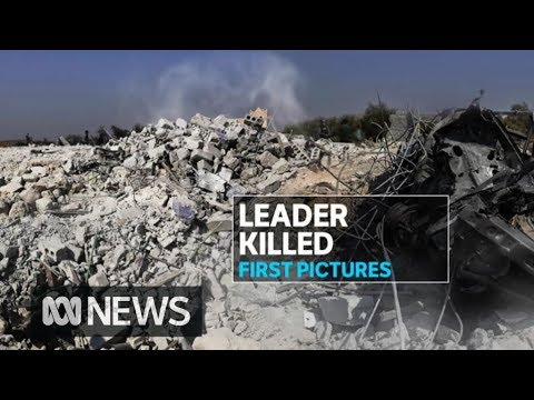 Pentagon releases video of raid on Abu Bakr al-Baghdadi's Islamic State compound | ABC News