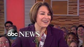 Sen. Amy Klobuchar opens up about her 2020 campaign
