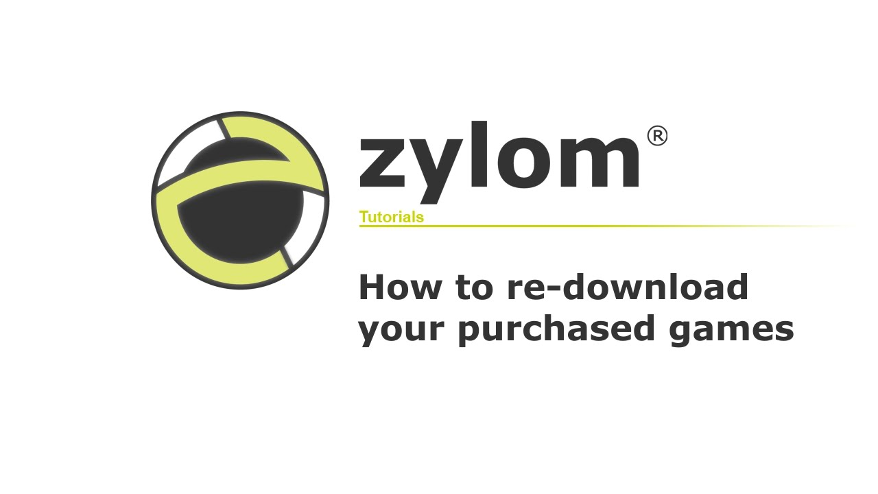 Zylom Tutorial #07 | How to re-download purchased games