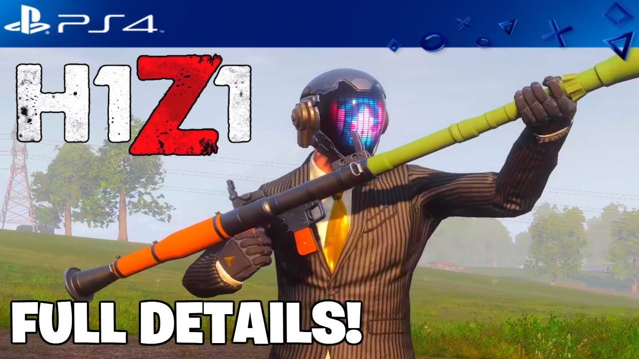 ✅H1Z1 PS4 NEW RPG, SNIPER, ARV GAMEPLAY & BATTLE PASS SKINS REVEALED