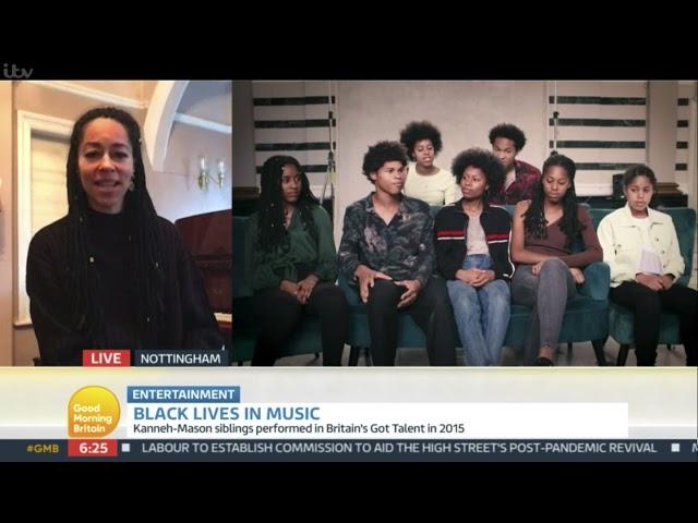 Dr Kadie Kanneh-Mason on Good Morning Britain #BlackLivesinMusic