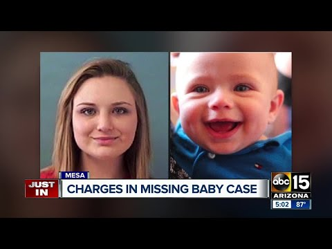Charges submitted against parents of missing Mesa mom, baby