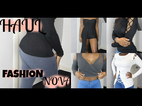 UK CUSTOMER EXPERIENCE WITH FASHION NOVA | COST, SHIPPING & SERVICE | TRY ON HAUL|  WINTER 2017