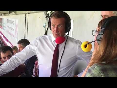 Justin Edinburgh speaking to BBC Radio Northampton after the loss to Fleetwood Town