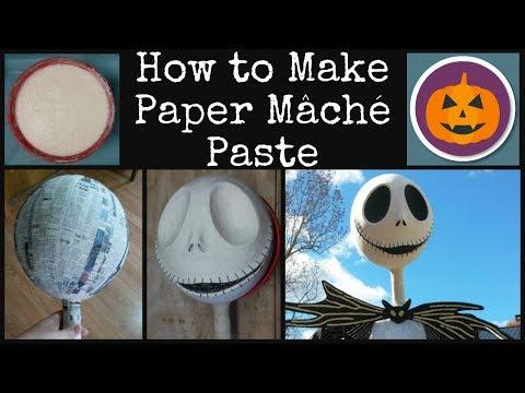 How to Make Paper Mâché Paste