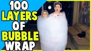 100 LAYERS OF BUBBLE WRAP w/ JENNXPENN