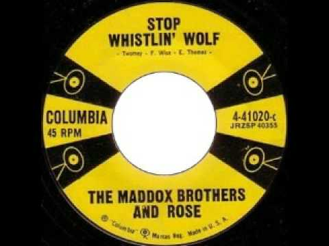 The Maddox Brothers And Rose - Stop Whislin