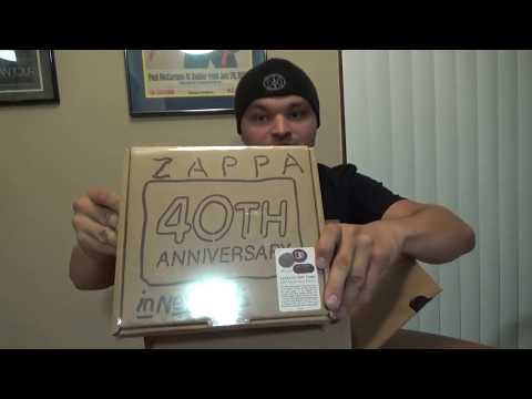 """Unboxing Box Sets: Frank Zappa's """"Zappa in New York"""" 40th Anniversary Reissue Mp3"""