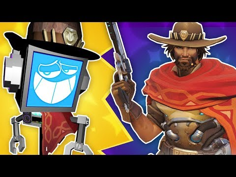 MCCREE SONG ► Fandroid The Musical Robot 🤠 (Overwatch Music Video)