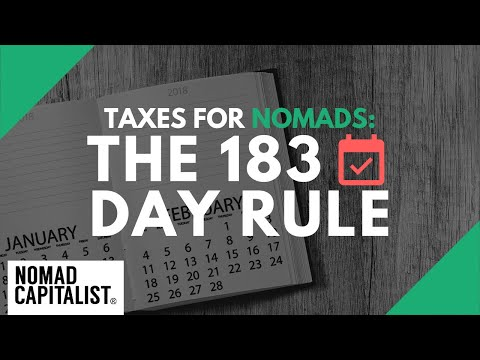 "The ""183 Day Rule"" for Offshore Tax Savings"