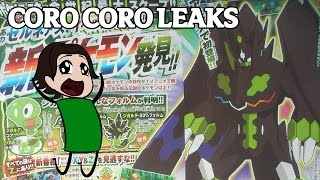Coro Coro Leak: New Zygarde Forms and Pokemon Z