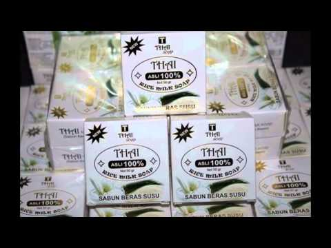 0857 0723 2000 Sabun Beras Thailand Asli Dan Palsu Youtube