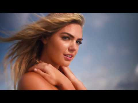 Greek - Kate Upton Wears A Golden Skirt And Nothing Else