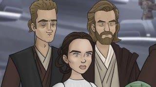Как Должен Был Закончиться Фильм Звёздные Войны: Атака Клонов
