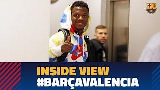 [BEHIND THE SCENES] Barça 5-2 Valencia with Ansu Fati's first goal at Camp Nou