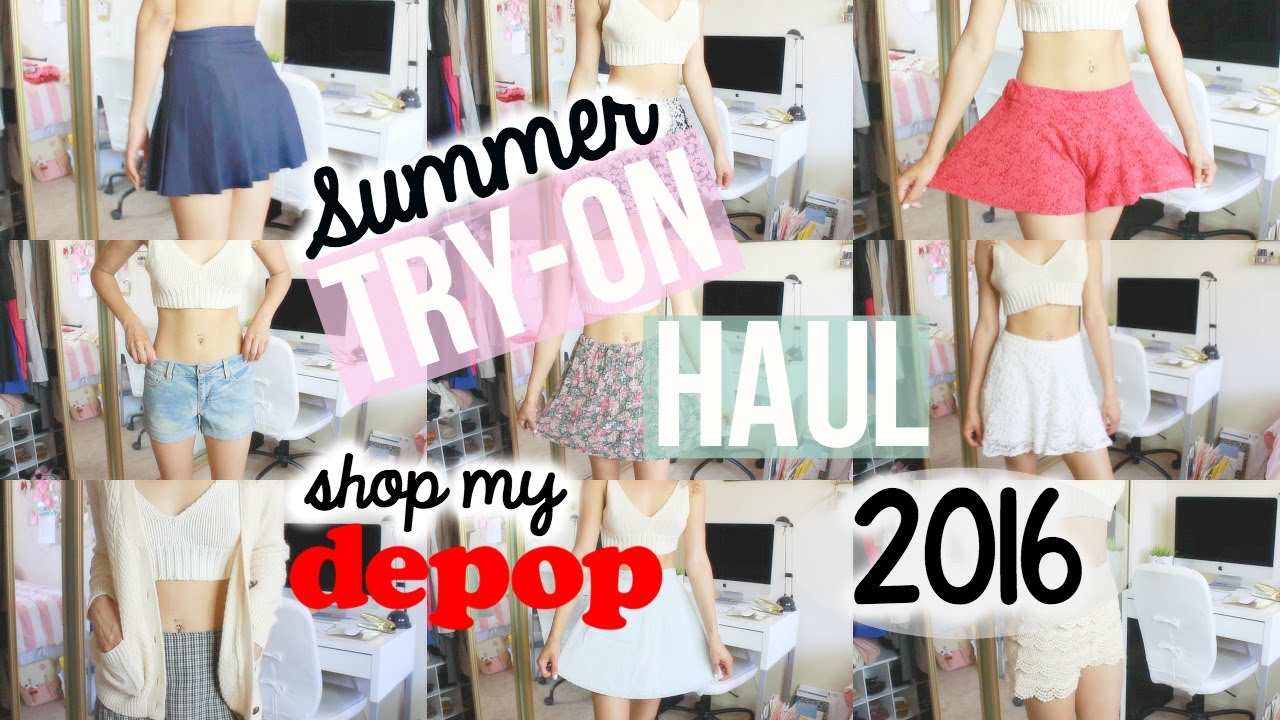79bc33c0ae8 SUMMER Try-On Haul  Shop My Closet! (Brandy Melville