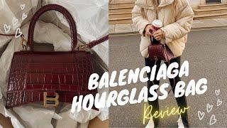 BALENCIAGA HOURGLASS BAG UNBOX…